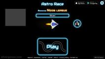 AstroRace .io: Menu