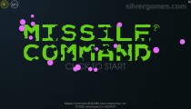 Atari Missile Command: Menu