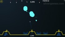 Atari Missile Command: Attack Gameplay Planes