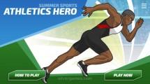 Athletics Hero: Menu