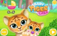 Baby Tiger Care: Menu