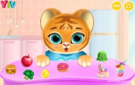 Baby Tiger Care: Kitty Eating Gameplay