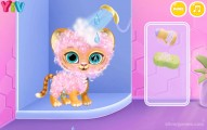 Baby Tiger Care: Gameplay Little Tiger Showering