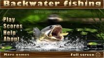 Backwater Fishing: Menu
