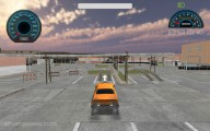 Backyard Car Parking: Yellow Car Parking