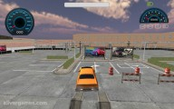 Backyard Car Parking: Parking Car