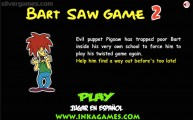 Bart Saw Game 2: Screenshot