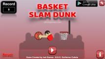 Basket Slam Dunk: Menu