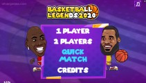 Basketball Legenden: Menu