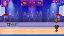 Basketball Legenden: Basketball Gameplay