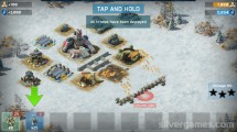 Battle For The Galaxy: Gameplay Troops Attacking