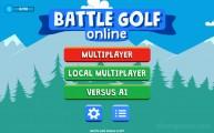Battle Golf: Menu