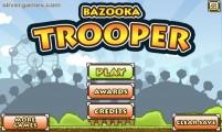 Bazooka Trooper: Menu