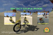 Beach Bike Stunt Racing: Level Selection Motobike