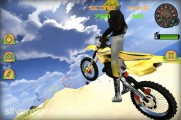 Beach Bike Stunt Racing: Motobike Stunt Desert