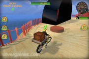 Beach Bike Stunt Racing: Motobike Cargo