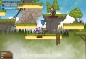 Bearbarians: Gameplay Fight