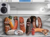Beatbox Sausages: Sausages Fridge Clicking