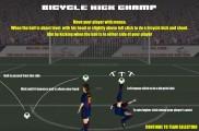 Bicycle Kick Champ: Menu