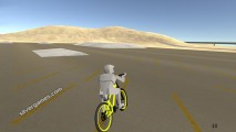 Bicycle Simulator: Yellow Bike Race
