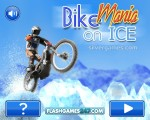 Bike Mania 3 On Ice: Menu