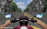 Motorrad-Simulator: Screenshot