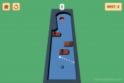 Billiard Golf: Ball In Hole