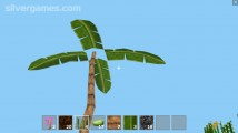 Block Craft 3D: Gameplay Palm Tree