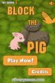 Block The Pig: Menu
