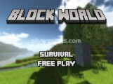 Block World: Menu
