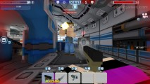 Blocky Car: Gameplay Shooting