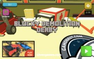 Blocky Demolition Derby: Menu