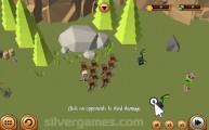 Blocky Fantasy Battle Simulator: Defense Gameplay