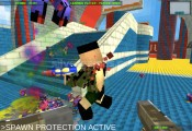 Blocky Gun Paintball 3: Gameplay Multiplayer Shooting