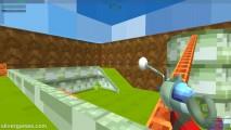 Blocky Gun Paintball: Gameplay