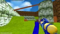 Blocky Gun Paintball: Paintball Gun