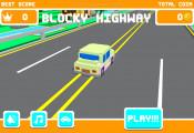 Blocky Roads: Menu Blocky Cars
