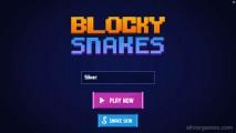 Blocky Snakes: Menu
