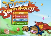 Bloons Super Monkey: Menu