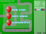 Bloons Tower Defense: Menu