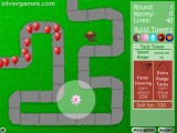 Bloons Tower Defense: Placing Towers