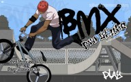 BMX Freestyle: Menu