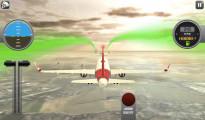 Boeing Flight Simulator 3D: Gameplay Flying