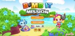 Bomb It Mission: Menu
