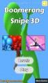 Boomerang Snipe 3D: Menu