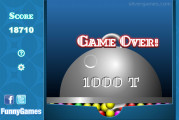 Bouncing Balls: Game Over