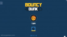 Bouncy Dunk: Menu