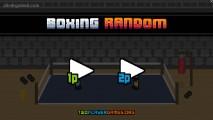 Boxing Random: Menu