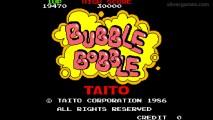 Bubble Bobble: Menu