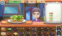 Burger Restaurant: Gameplay Cooking Burger